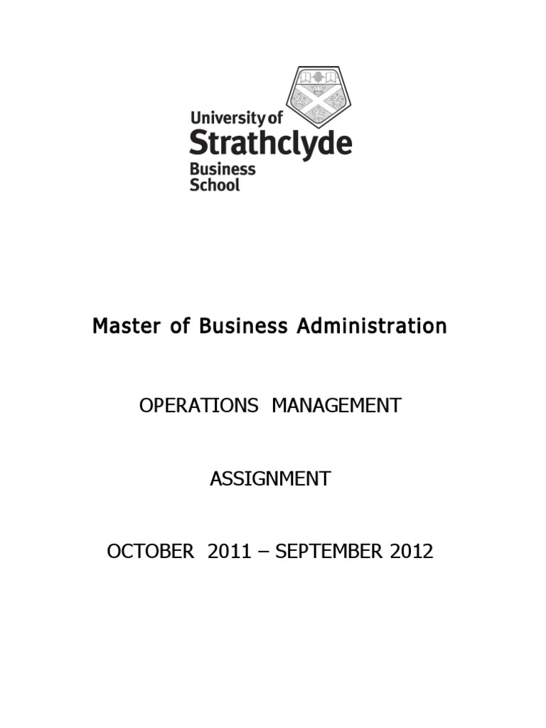 Write my operation management assignment