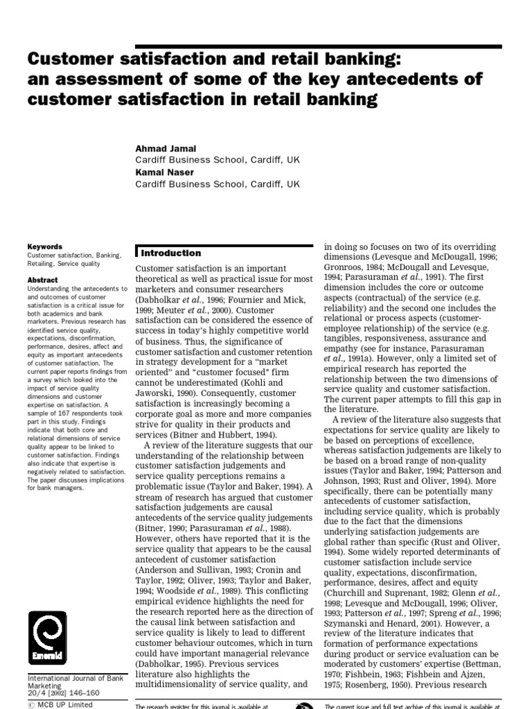 """literature review on retail banking services Literature review indian banking industry is one of the most services: the new face of retail banking"""" emphasize the review of literature & research."""