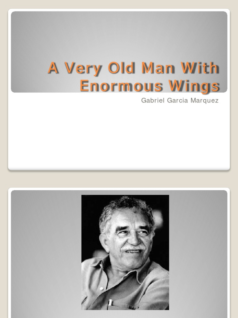 an analysis of equality of individualism in the very old man enormous wings by gabriel marquez and h