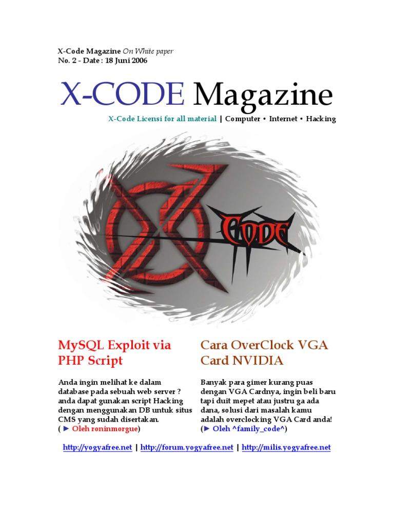 Ebook Hacker Indonesia XCode Magazine Vol 6 - 10