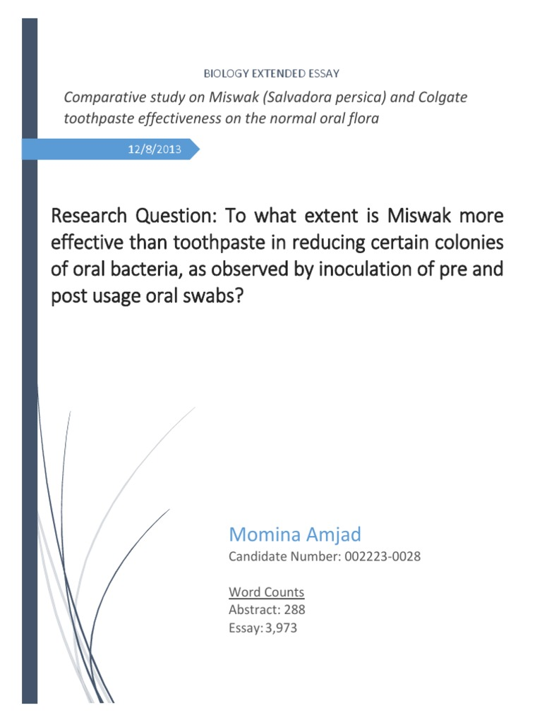 extended essay help biology % original ap english essay prompts