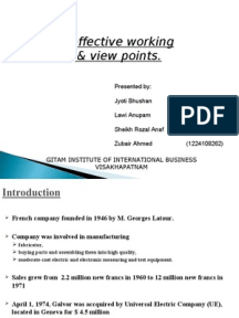 medoc company case study analysis