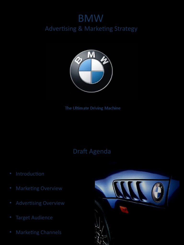 bmw marketing strategy essays Samsung's target market introduction samsung is a south korean company global factors and strategy.