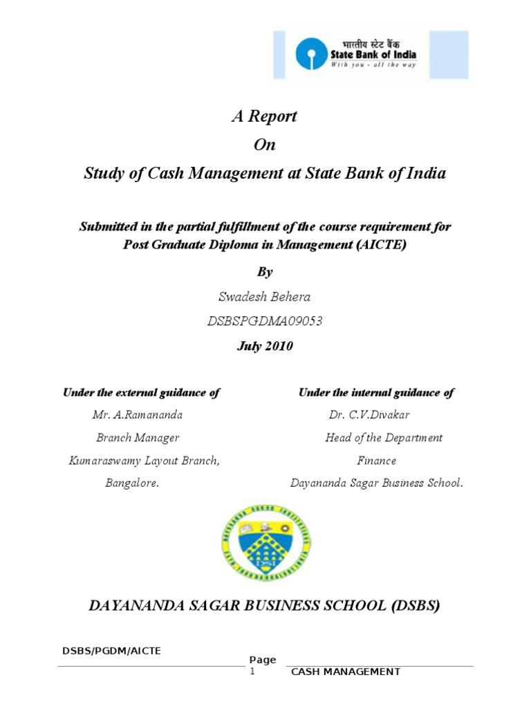 finance dissertation report