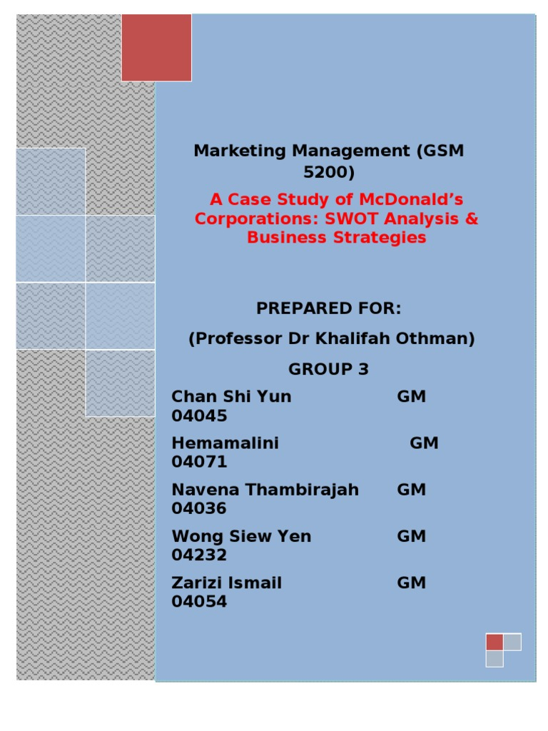 operational management at mcdonald essay Mcdonald's fulfills the 10 strategic decisions areas of operations management for high productivity as shown in this case study and analysis on the company.