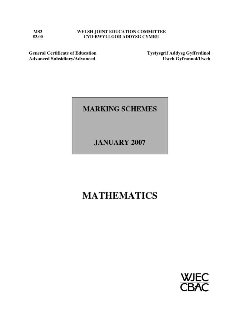 data analysis coursework mark scheme