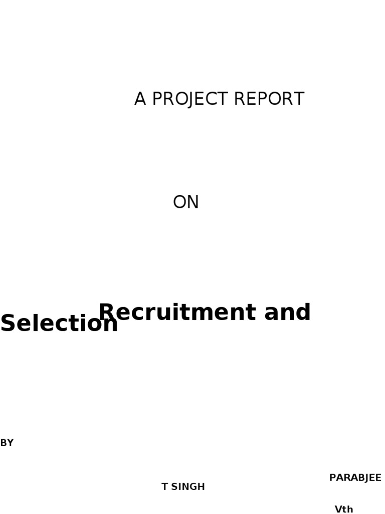 recruitment and selection literature review Employee retention: a review of literature therefore, for an organization to realize its goals, appropriate strategies for employee recruitment and.