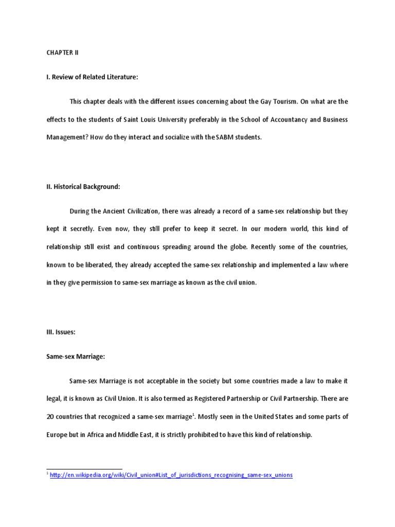 same sex marriage essays pro Same Sex Marriage Essay Topics