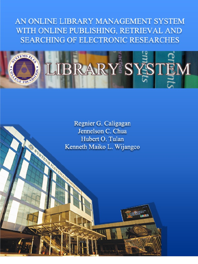 thesis library system