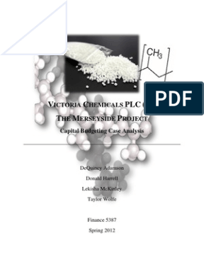 victoria chemicals case 22 solutions This is a research report on diamond chemical presentation describing the case analysis of diamond chemical's introduction to chemical engineering | lecture 22.
