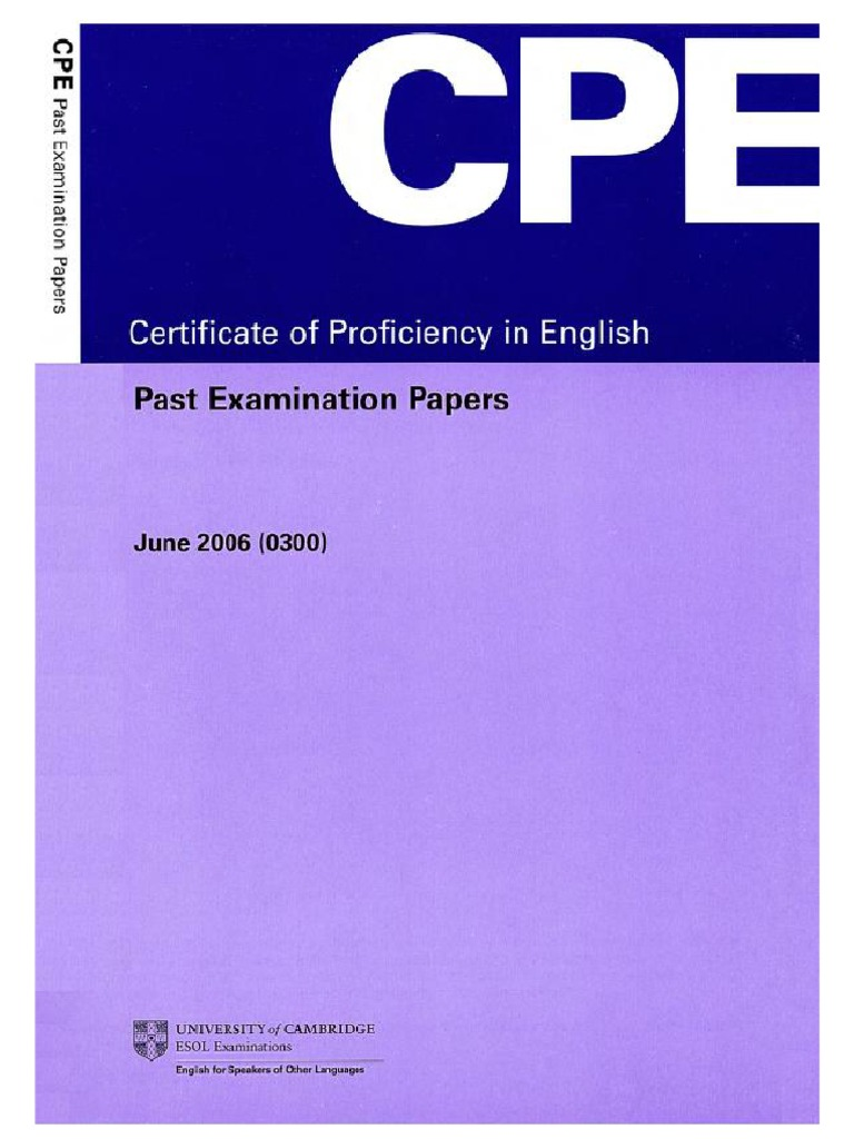 Vce english past exam papers