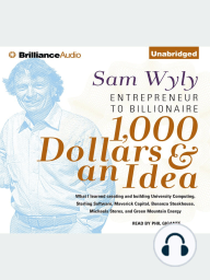 1,000 Dollars & an Idea
