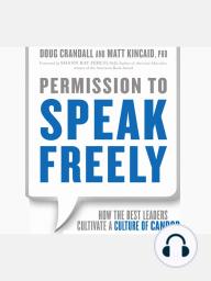 Permission to Speak Freely