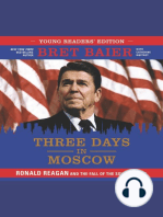 Three Days in Moscow: Young Readers' Edition: Ronald Reagan and the Fall of the Soviet Empire