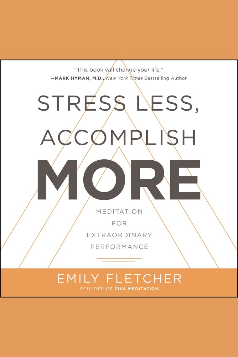 Dengarkan Buku Audio Stress Less, Accomplish More Online
