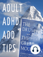 "Adult ADHD ADD Tips and Support Podcast – ""Exercise, Diet, and Supplements"" (Part 3)"