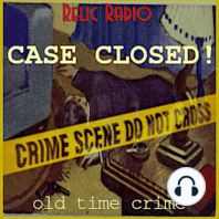 Philip Marlowe and Crime Club: This week on Case Closed, The Adventures Of Philip Marlowe is up first with his story, The Final Payment. That episode aired September 15, 1950. Then, Crime Club shares the story of The Self-Made Corpse, their broadcast from July 31, 1947. Download Case