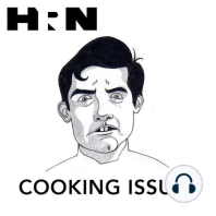 """Episode 263: Lost in Mianus: This week on Cooking Issues, Dave is joined in the studio by Nick Wong, chef de cuisine at Momofuku Ssäm Bar, and Esther Ha of Cafe Boulud to talk cookies, plums, pumpkin bread, olives, seasoning sticks, shrimp, and the correct pronunciation of """"Mianus."""""""