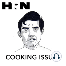 Episode 106: Live Readings with Harold McGee: Dave Arnold and Nastassia Lopez lament the worlds declining champagne consumption on this weeks episode of Cooking Issues. Dave starts the episode by reiterating the safety of liquid nitrogen in cooking applications if used by an experienced technician. D