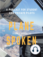 Episode 4 – Basics of flight for student pilots