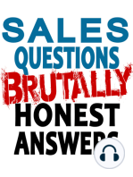 WHAT IS THE #1 CHANGE I NEED TO MAKE TO BE SUCCESSFUL IN SALES?