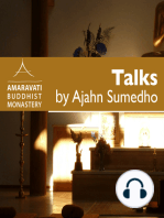 Meditation Practise – Morning Talk Reflection