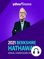 Warren Buffett welcomes shareholders and discusses Berkshire Hathaway's quarterly profit.