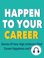 Changing Yourself to Fit Your Career Won't Bring Satisfaction