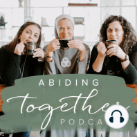 Restoring the Beauty Recap (ep. 19 sea. 5): Today on the Abiding Together Podcast, Sr. Miriam, Michelle, and Heather recap their conference on restoring the beauty with special guest Fr. Josh Johnson. We talk about the four themes of our weekend and how this applies to all of us at every stage in our spiritual journey. We also discuss what it looks like to have restored hearts, femininity, hope, relationships.
