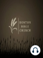01/24/2016 - Denton Bible Church