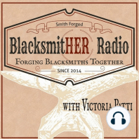 """Episode #82 – Kevin and Heather Harvey """"If you've got a feel for steel…go for it!"""": Heather and Kevin Harvey from South Africa, they are both Master Bladesmiths with the American Bladesmith Society. They attained their M.S stamps in 2003 making them, at that time, the only married couple Mastersmiths. Heather was the second lady..."""