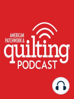 3-6-17 Julie Neu, Robin Pickens, Linda Thielfoldt, and myself for a Q&A on Sloan's Talk show for American Patchwork and Quilting Radio