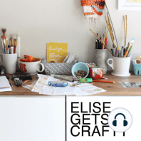 MAKER CHAT 3: Kaylan Buteyn / ep 131: elise chats with abstract artist Kaylan Buteyn about creative exploration and her transition to painting. shownotes for this episode can be found at elisejoy.com/podcast/shownotes131 (explicit rating is for one minor curse word.)