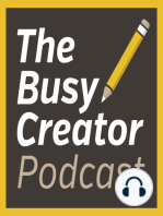 Designer & Entrepreneur Cathryn Lavery Shares Her Personal Productivity Habits, Tactics for a Successful Kickstarter Launch - The Busy Creator Podcast 65