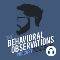 """Meditation, Mindfulness, and ABA with Gia Biscontini: Session 53: It seems as if you can't escape the term """"mindfulness"""" these days... and if you're like me, you hear people using that term interchangeably with meditation. Well in Session 53 of The Behavioral Observations Podcast, I chat with Gia Biscontini from..."""