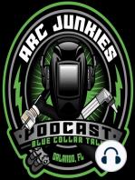 59. ARC JUNKIES LIVE from FABTECH 2018 w/ Jody Collier, Bob Moffatt and Ian Johnson