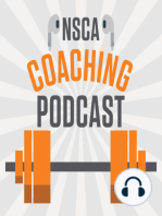 NSCA's Coaching Podcast, Episode 17