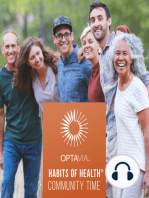 OPTAVIA Habits of Health - If you're not growing, you're not going!