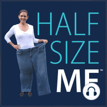 219 – Half Size Me: Why Focusing on Self Compassion will Help You Reach Your Weight Loss Goals with Cookie Rosenblum: In this episode of The Half Size Me™ Show, Heather talks to Cookieabout whyyou should expect slip ups while working on over eating and binge eating why focusing on self compassion will help you reach your weight loss goals why becoming in tune with y...
