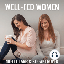 #055: Negative Body Image and Pregnancy, Menopause, & Increased Hunger: In this episode, Stefani and Noelle discuss struggling with a negative body image during pregnancy, tips for those going through menopause, and dealing with increased hunger on Paleo.