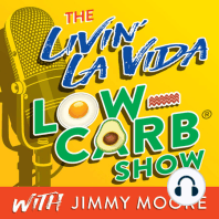 """1235: Robb Wolf Evolves From Paleo To Personalized Nutrition With Wired To Eat (Part 1): New York Times Best Selling author, former California State Powerlifting Champion, and health expert Robb Wolfis our guest today in Episode 1235 of """"The Livin' La Vida Low-Carb Show.""""   Today's episode is Part one of a special..."""