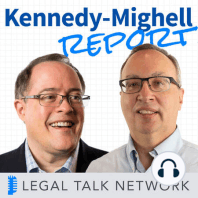 Collaborating with Cybersecurity in Mind: One employee with bad cybersecurity habits can leave your whole firm in danger which is why, as important as collaboration is, it's important to share and communicate wisely. In this episode of the Kennedy-Mighell Report, hosts Dennis Kennedy and...