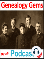 Episode 43 - Genealogy at Borders, & New U.S. Census History Site