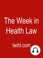 """134. Another """"The Week in Medicaid."""" Guest, Jamila Michener."""