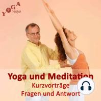 Meditieren oder Yoga