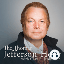 """#1253 Second Term: """"Nature intended me for the tranquil pursuits of science by rendering them my supreme delight."""" — Thomas Jefferson We return to the Jefferson 101 biographical series and explore Jefferson's second term as President. We discuss the many..."""