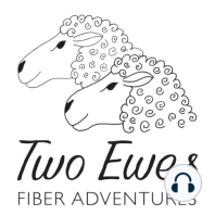 Ep 22: Town Ewe and Country Ewe: One visits the big city with yarn shops while the other camps in the Redwoods and knits!