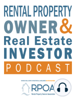 EP072 Who is Fighting Bad Laws that Hurt Real Estate Owners & Investors? How the RPOA Fights For Your Rights with Clay Powell