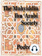 Ibn Arabi's 'Doves of the Arak Tree' and its Arabian, Qur'anic and Plotinian Antecedents