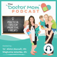 #35: Healthy Eating for Busy Moms: Join us as we share our favorite tips to eat healthy even asbusy moms! In this episode, Stephanie and Aglaée sharetheir secrets toeat healthy foods whilerunning arounda toddler and working. Learn about our must-have...